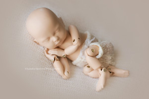 StandInBaby training aid newborn photography