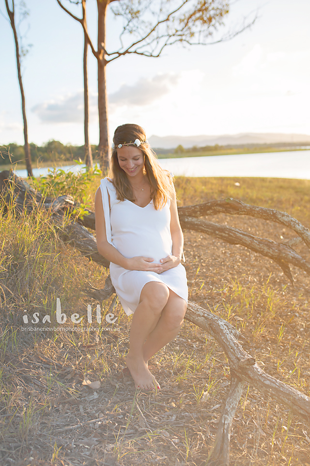 brisbane maternity session on location